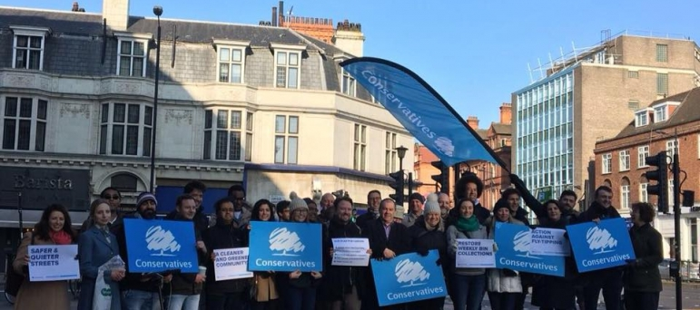 Conservative team at Swiss Cottage